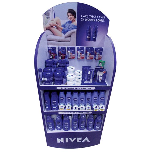 Nivea Care That Lasts Floor Display