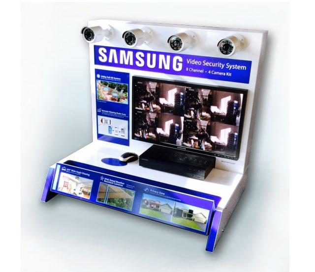 Samsung Security Camera Permanent Display
