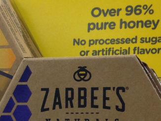 Zarbee's Shelf Display