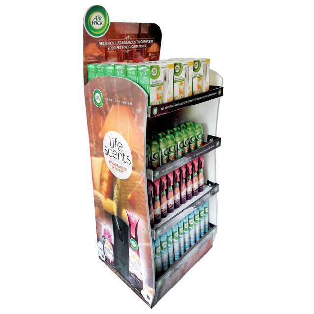 Air Wick Life Scents Floor Display
