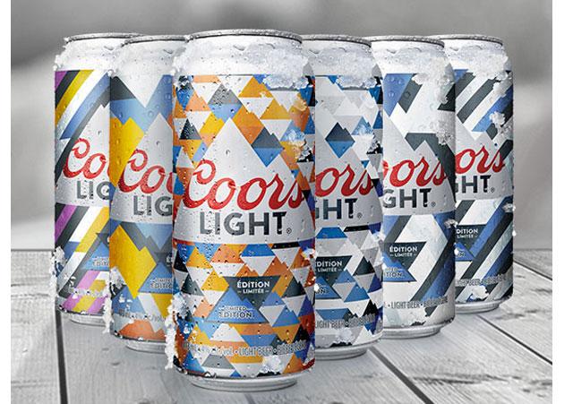 Coors Light Summer Certified Cans