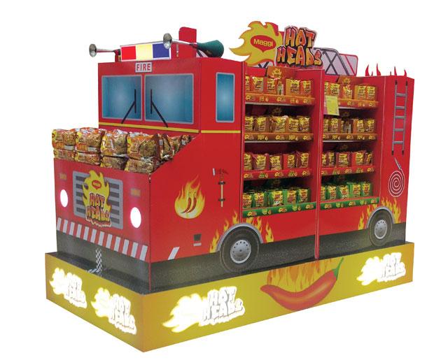 Hot Deals Fire Truck Display