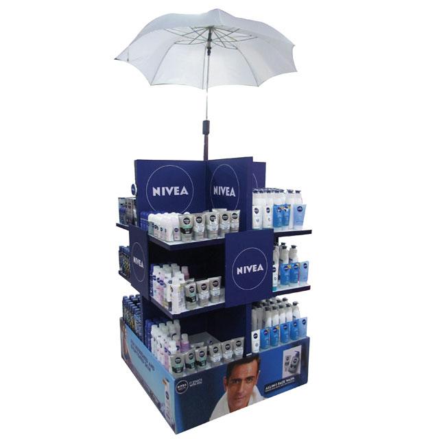 Nivea Umbrella Display
