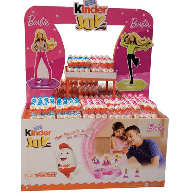 Kinder Joy Barbie Display