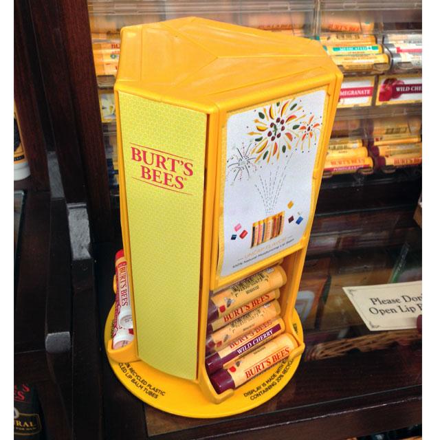 Burt's Bees Spinner Display