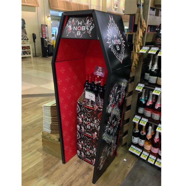 HobNob Wicked Red Wine Display