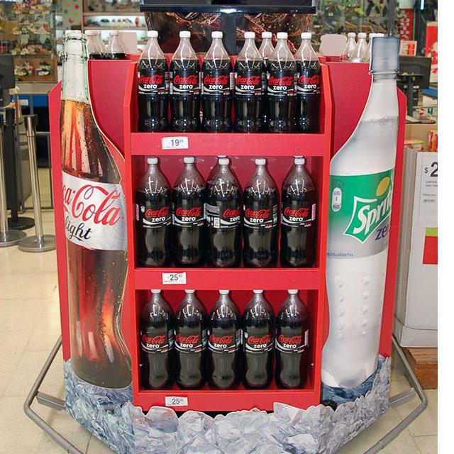 Coca-Cola Walk Around Display