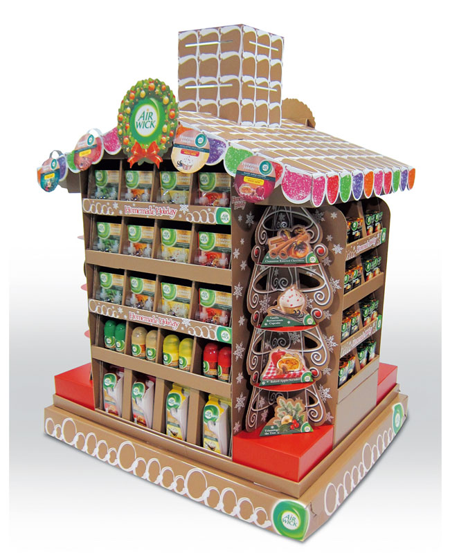 Air Wick Gingerbread House Pallet