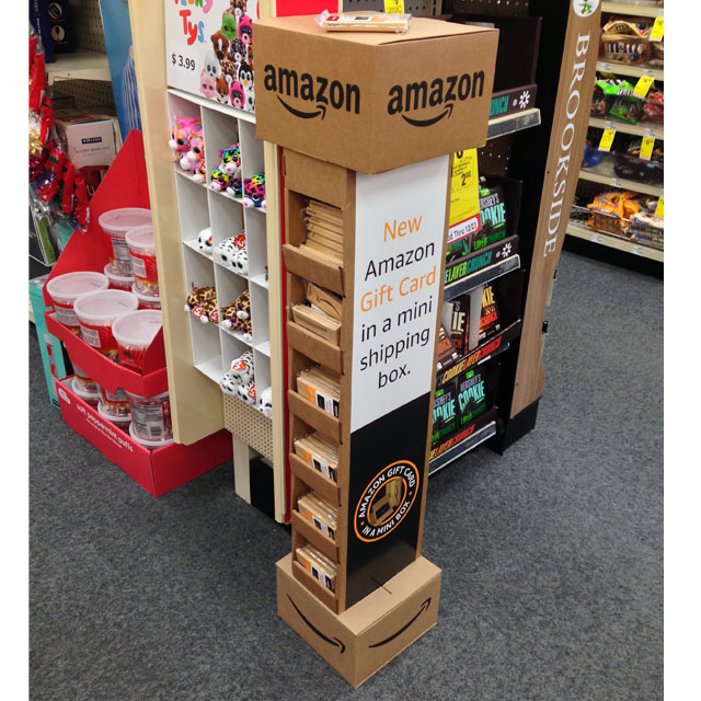 Amazon Gift Card Mini Box Display