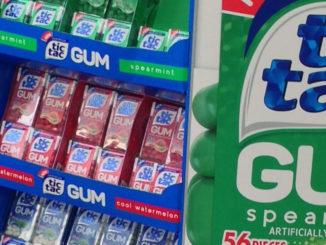 Tic Tac Gum Pallet Display