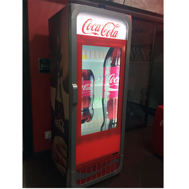 Onyx Display Media Coca-Cola Display