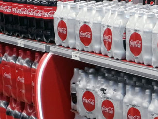 Coca-Cola Aisle Display