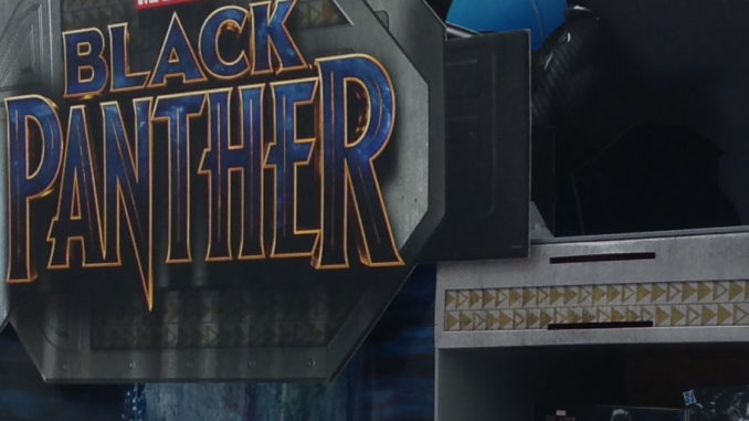 Black Panther POP Pallet Display