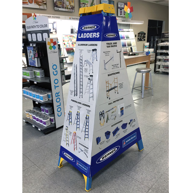 Werner Ladder Display