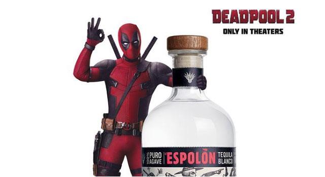 Deadpool Endorses a Tequila Brand