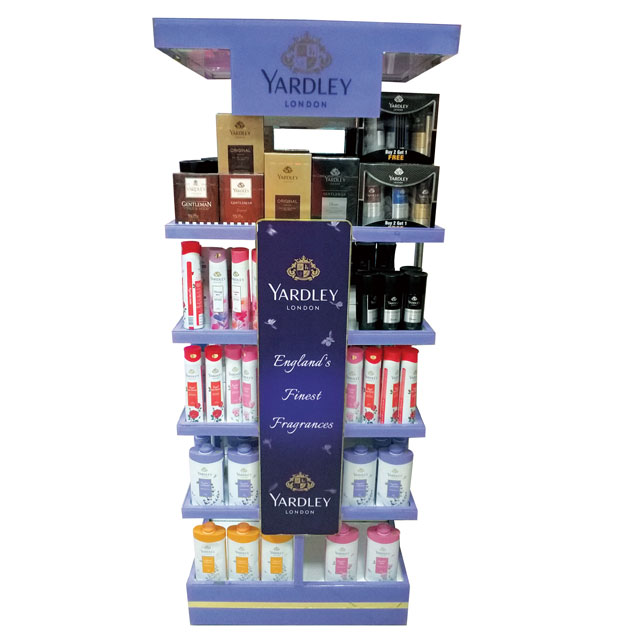Yardley Fragrance Display