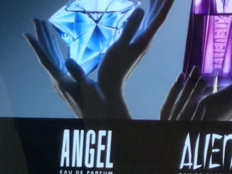 Thierry Mugler Fragrance Display