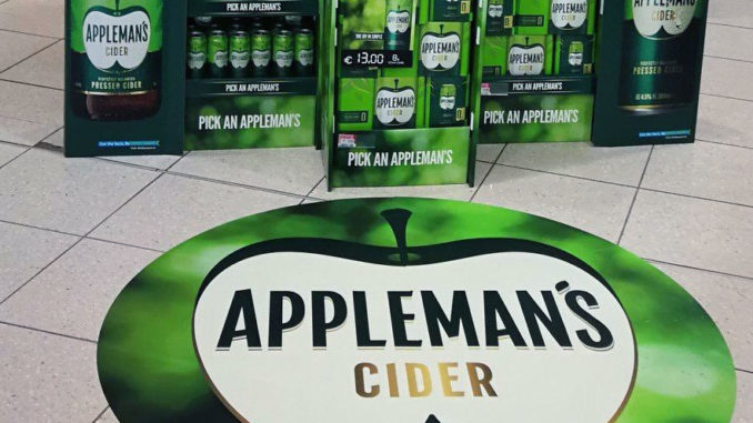 Appleman's Cider Stacker Display