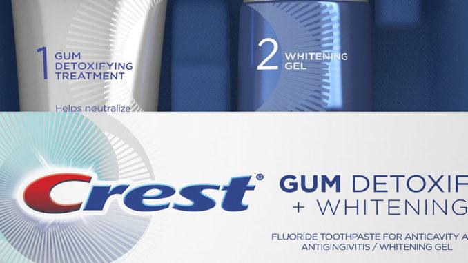 New Crest Toothpaste Helps Improve Gum Health