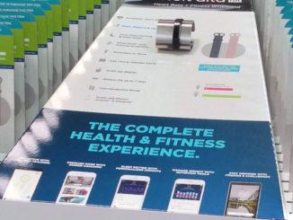 Fitbit Pallet Displays