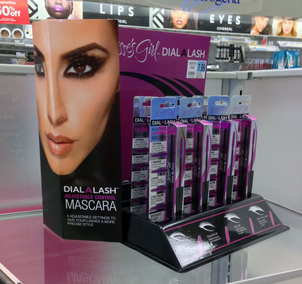 Jesse's Girl Dial A Lash Mascara Display