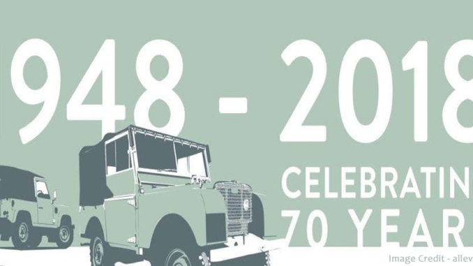 70 years of Jaguar Land Rover