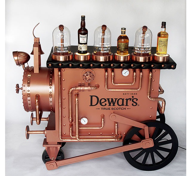 Dewar's Vaporizer Display