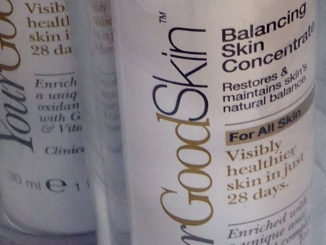YourGoodSkin Shelf Display