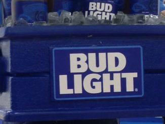 Bud Light Barker Display