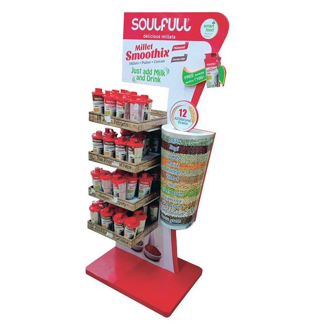Soulfull Millet Smoothix Floor Display