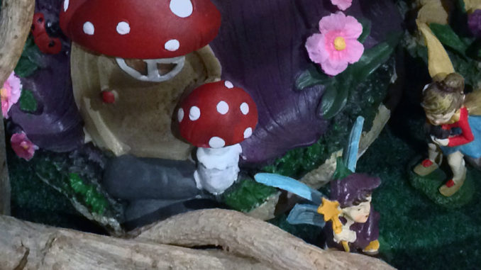 Fairy Village Floor Display