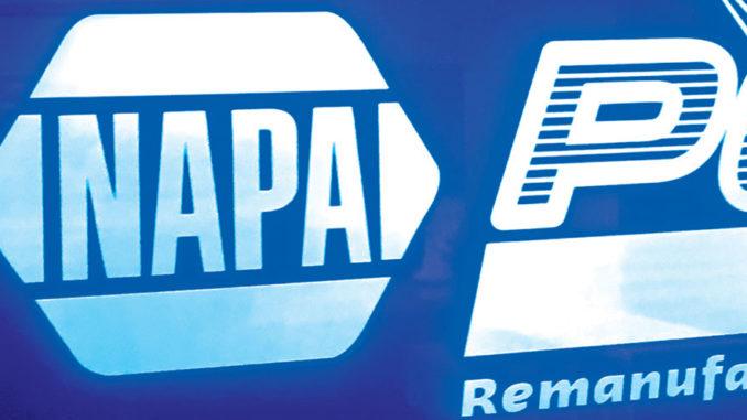 NAPA NightVision End Cap Display