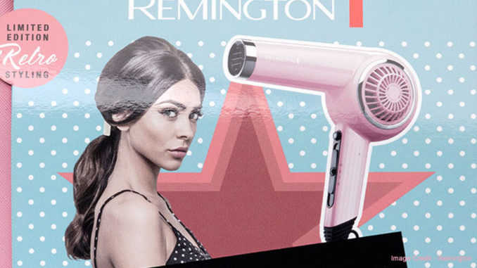 Remington Pink Lady Hair Dryer Gift Pack