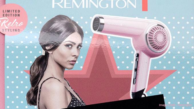 Remington Pink Lady Hair Dryer Gift Pack