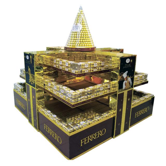 Ferrero Rocher Holiday Floor Display