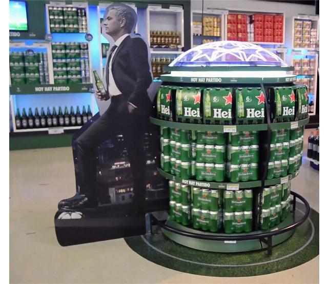 Heineken Launches Champions POS Campaign