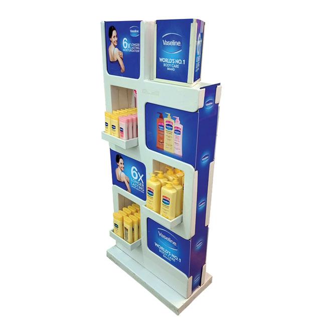 Vaseline Body Care Floor Display