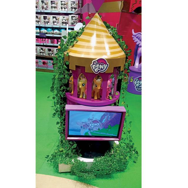 My Little Pony Interactive Display