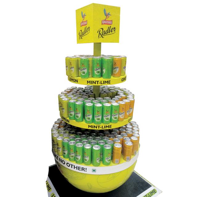 Radler Beverage Floor Display