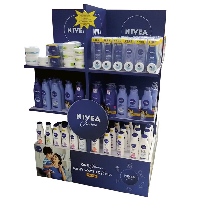 Nivea Creme Display