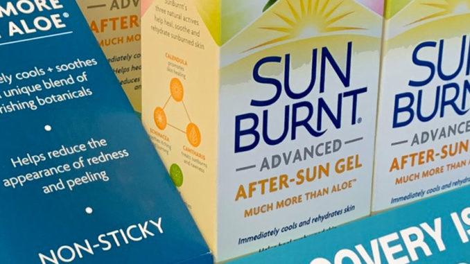 Sunburnt Counter Display