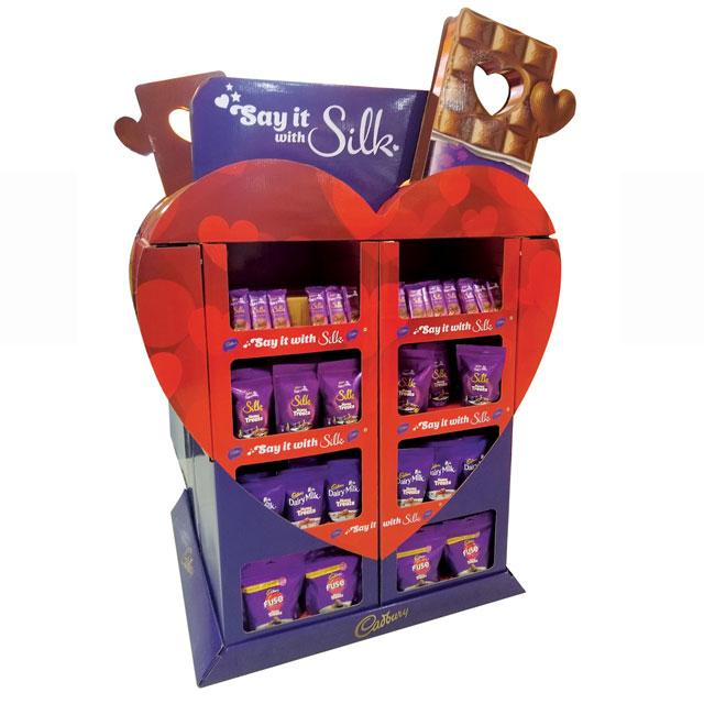 Cadbury Silk Display