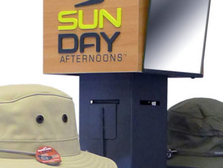 Sunday Afternoons Floor Display