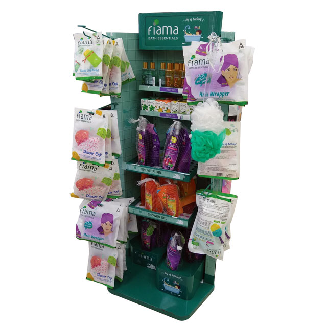 Fiama Bath Essentials Display