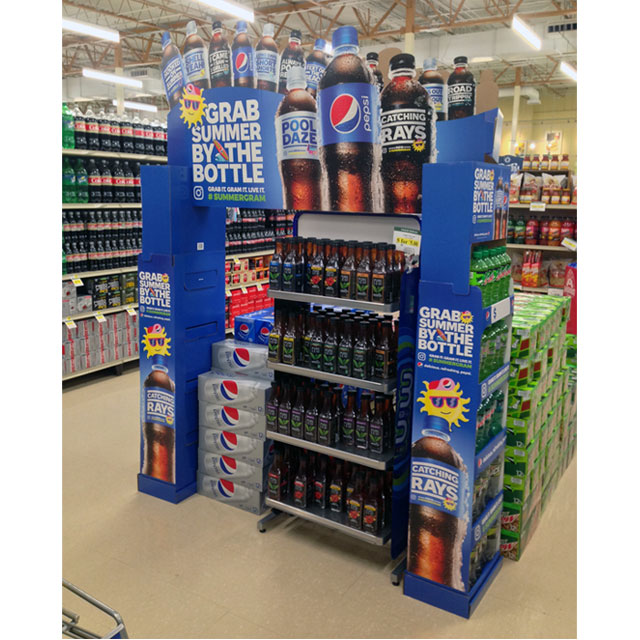 Pepsi Grabs Summer By The Bottle