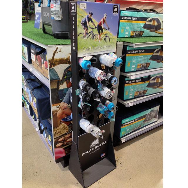 Polar Bottle Retail Display