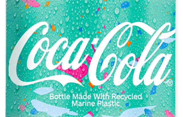 Coca-Cola Recycled Marine Bottle