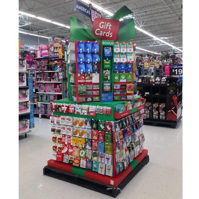 Walmart Gift Card Display