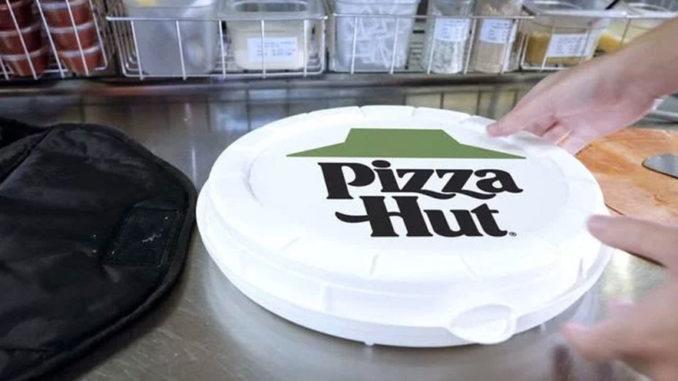 Pizza Hut Round Box