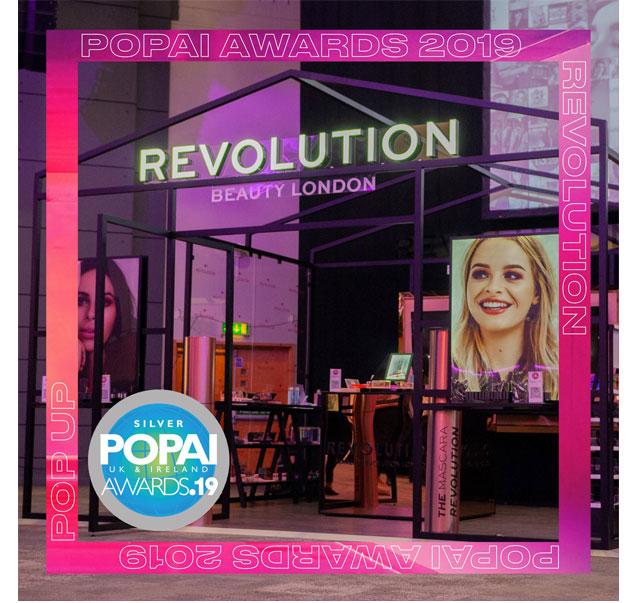 Pop-Up for Revolution Beauty